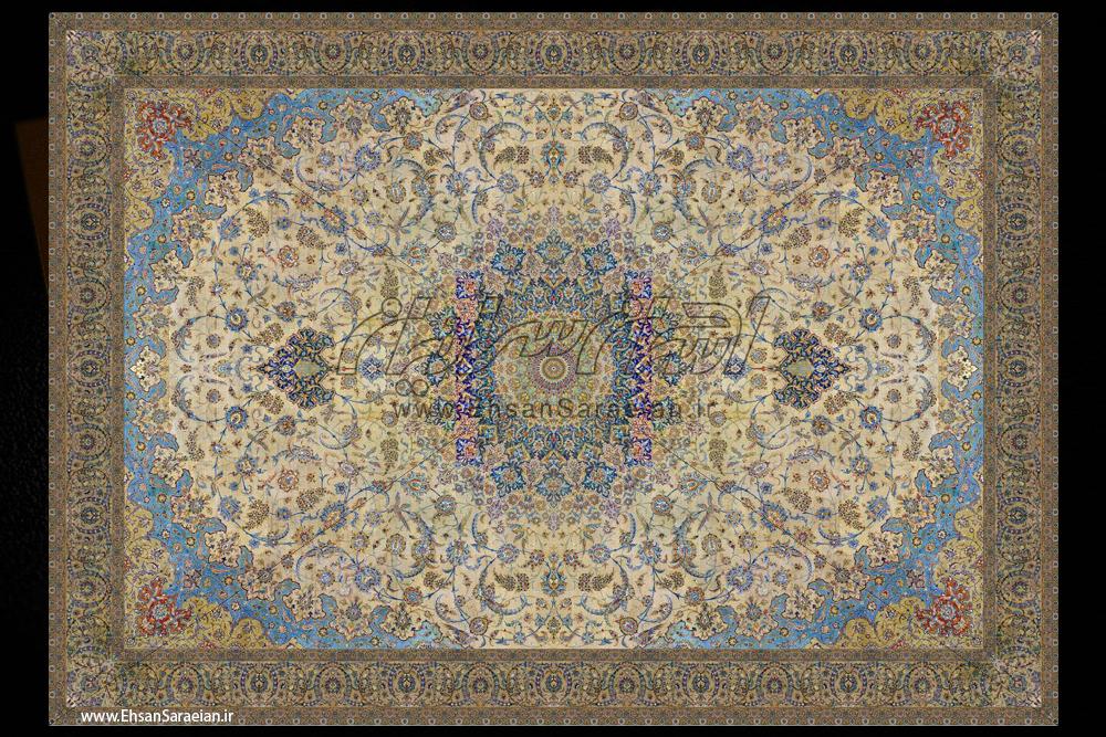بازسازی نقشه فرش اصفهان متعلق به 40 سال پیش / The restructuring Isfahan carpets in 40 years ago